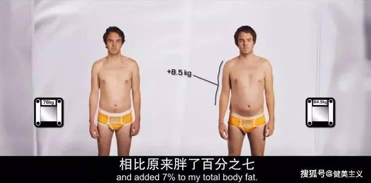 他每天坚持健身+喝酸奶,一个月后得了脂肪肝,两个月胖了17斤!