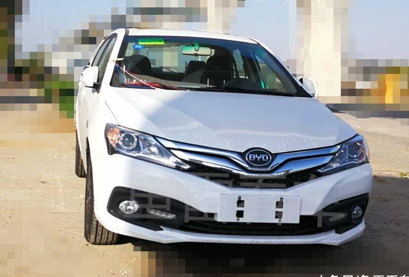 比亚迪国产车原厂重新上线,F3搭配万里扬CVT18实车谍照首次曝光