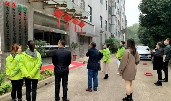 湘潭大学社会工作研究生实习实训基地落地种子社工