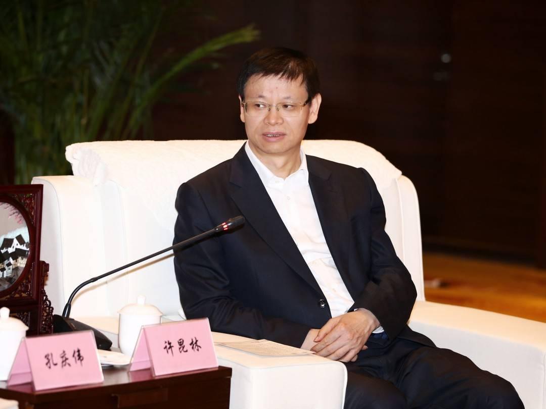 许会见中国太平洋保险集团公司党委书记、董事长孔一行'亚博App'(图2)