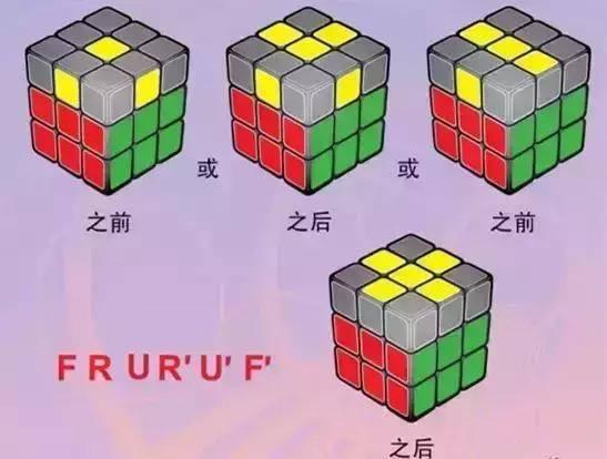 魔方教程公式口诀(魔方教程一步一步图解) 网络快讯 第16张