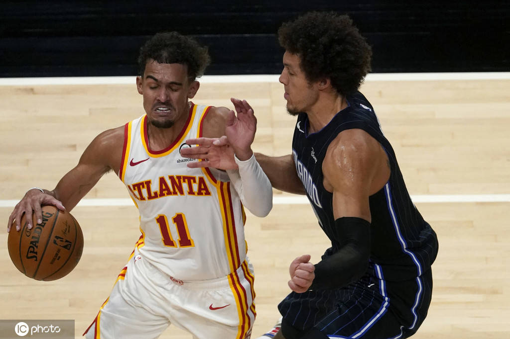 2020-21赛季NBA季前赛继续进行,老鹰队迎战魔术队