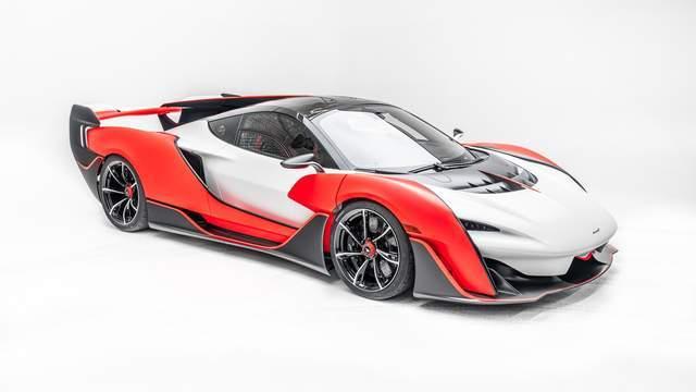 原厂新车|迈凯轮塞纳的哥哥Sabre开着史上最快的量产双座车