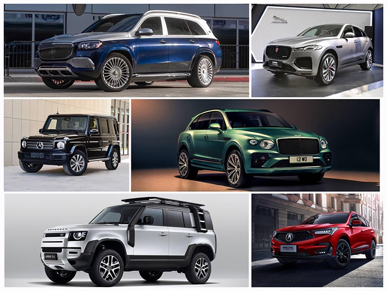 原厂2020款豪华SUV新车库存,主营运动、硬地两种款式