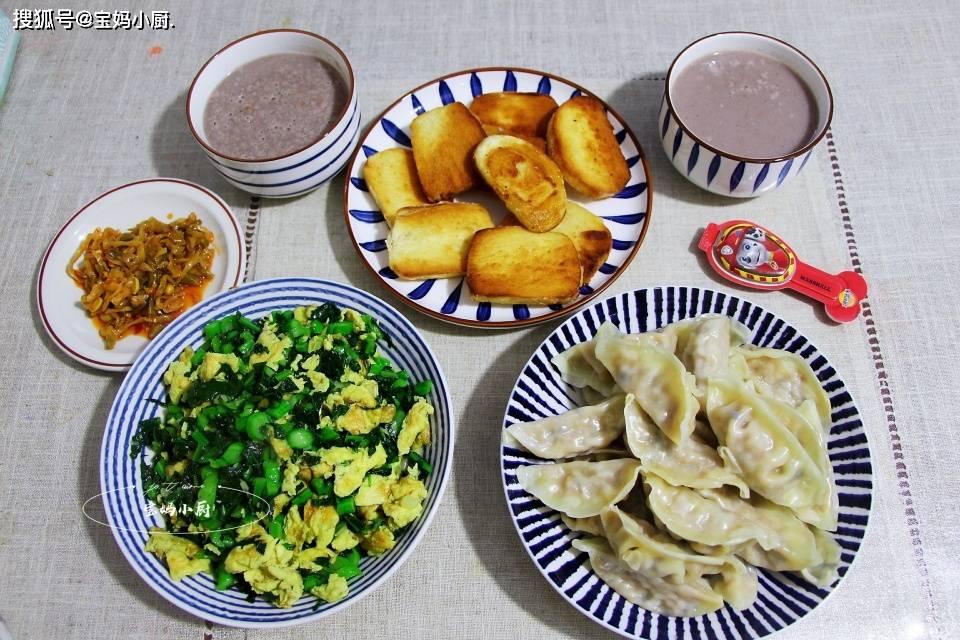 原生家庭的6天早餐,每天都有新花样,经济、营养、美味、健康