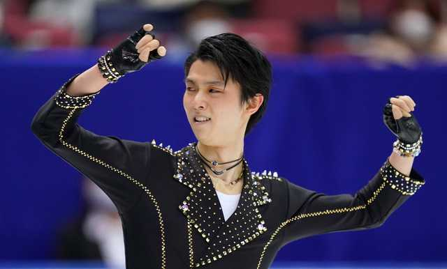 花样滑冰全日锦标赛羽生结弦复出居首 宇野昌磨第三