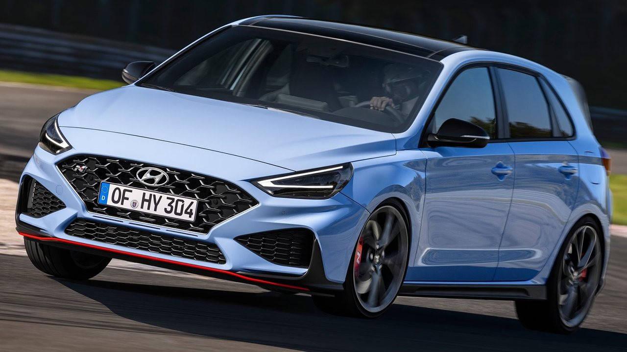 2021款现代i30 N在海外的售价仅为3.53万欧元