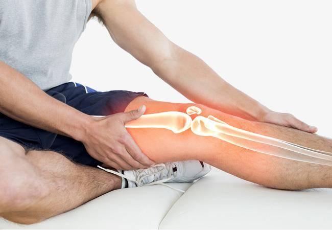 原护膝,做四个小动作