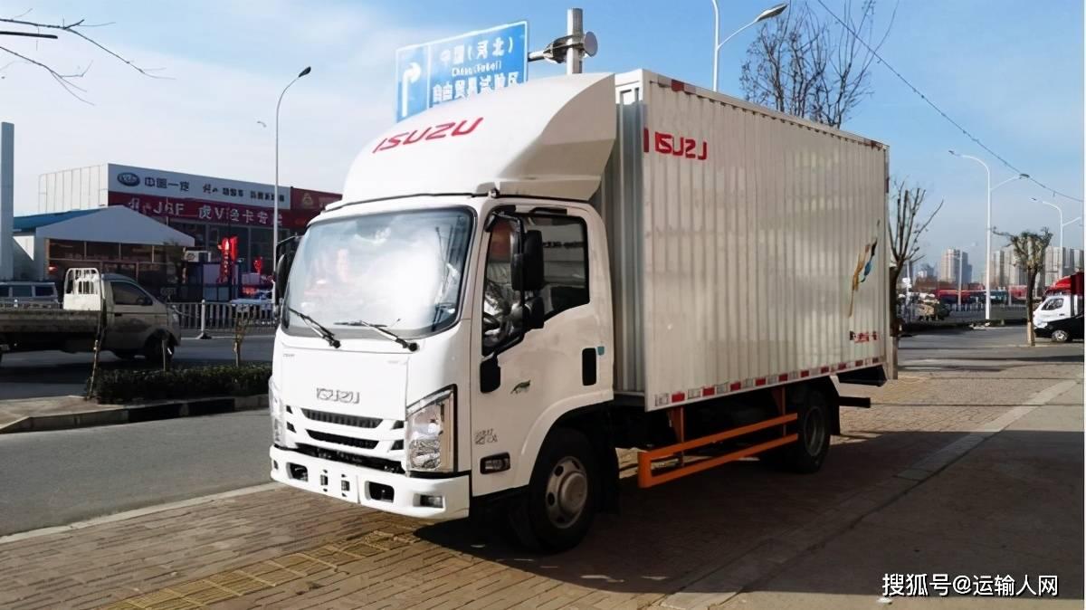 原厂江西五十铃翼EC轻卡售价9.98万元,帮助高效运输,性价比高