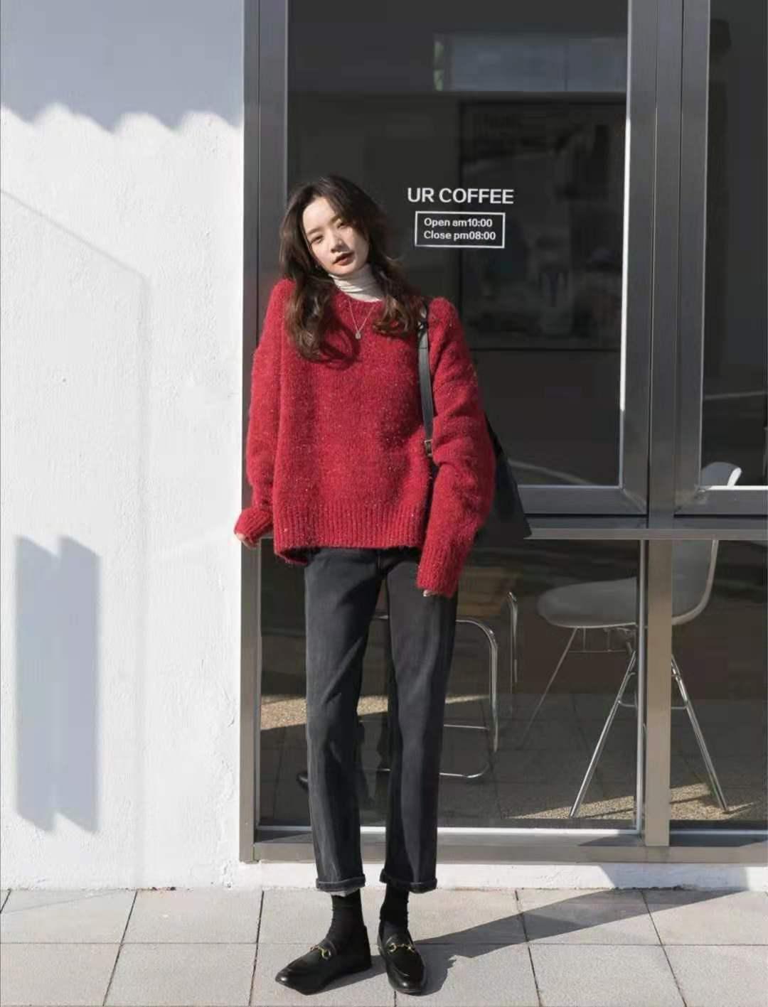 ALLBET欧博官网- 红色毛衣搭配什么裤子和鞋子悦目