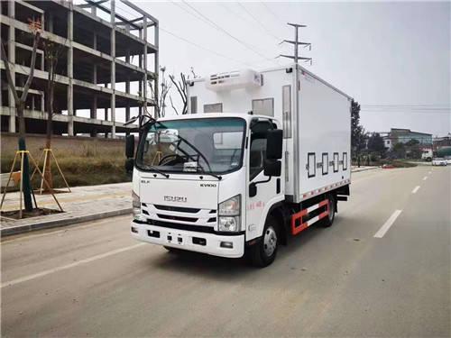 刘国庆铃五十铃家禽运输车价格多少?