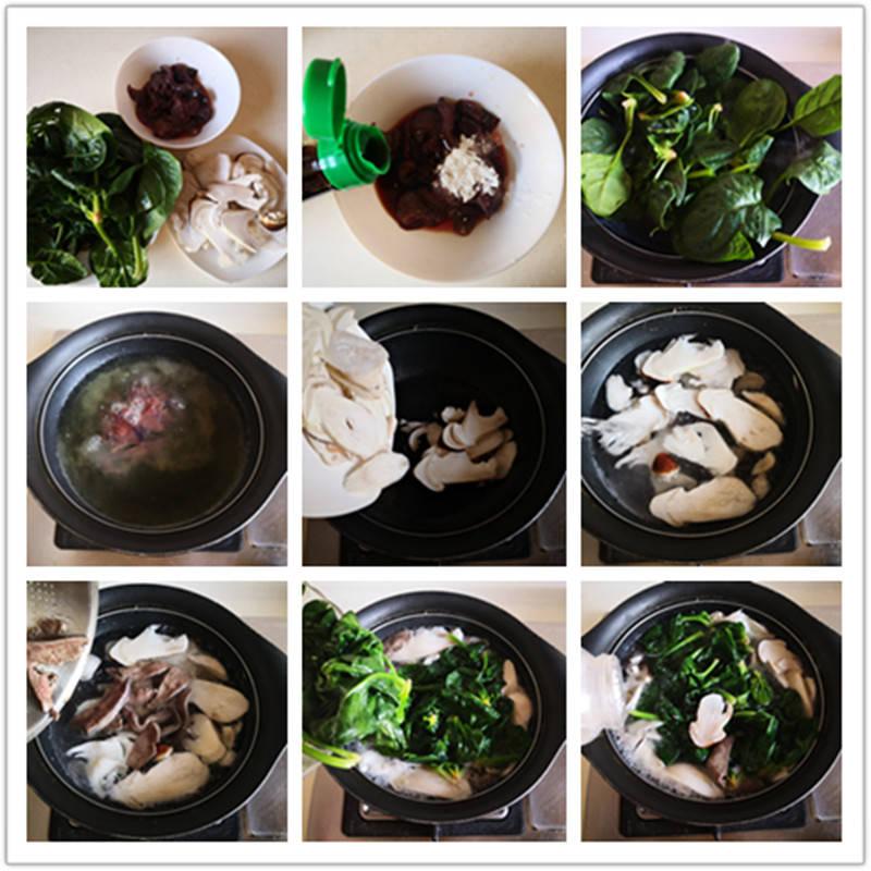 冬季润燥要常喝汤,菠菜和它是绝配,鲜美便宜又润燥,上桌必喝光