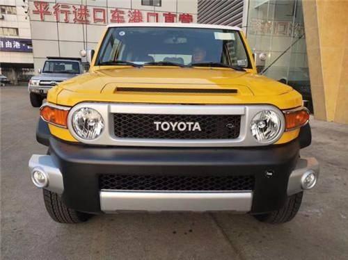 20新款丰田FJ酷路泽4.0L颜色可选裸利低价