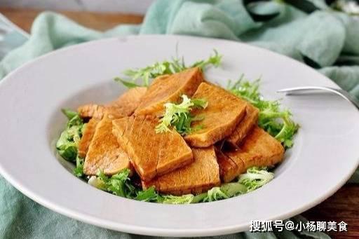 最好吃的千页豆腐,要煎才好吃,金黄又入味