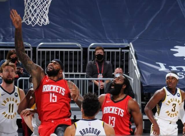 NBA常规赛火箭客场应战步行者,本赛季步行者开局表现出色