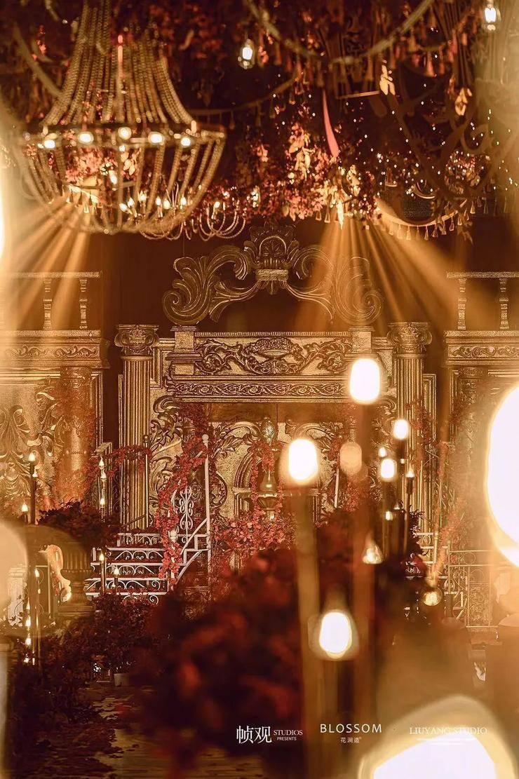 原始奢华的巴洛克城堡婚礼