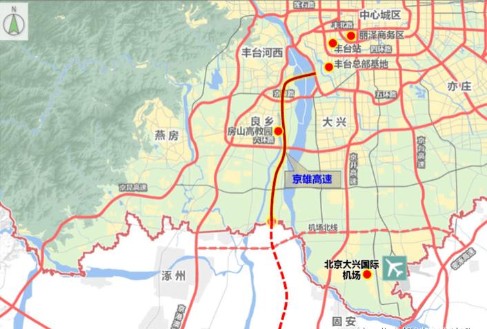再添一条连通京冀的高速!穿过大兴这个村