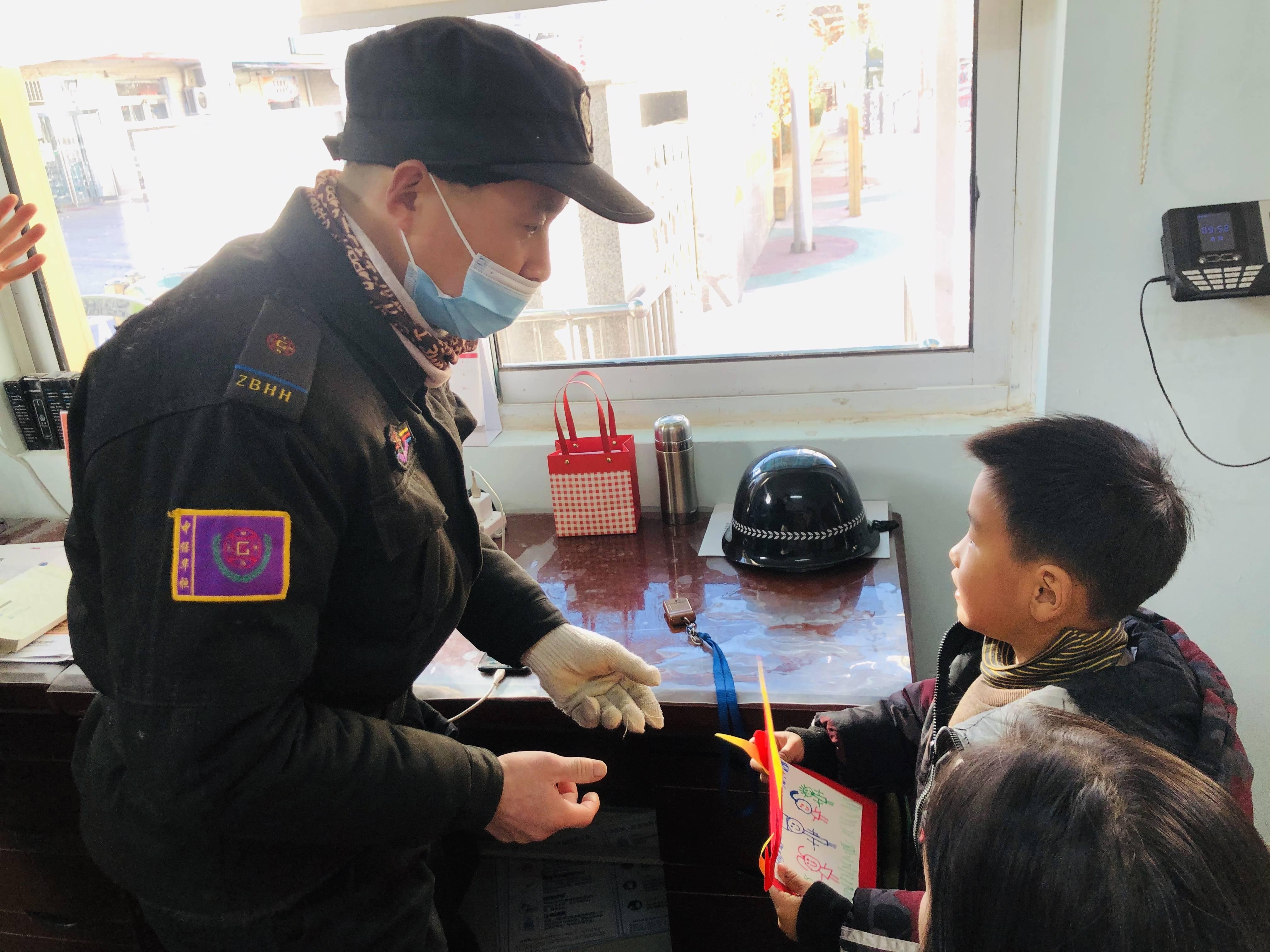 童言童语迎新春——惠济区花园口幼儿园大班组举行年会活动