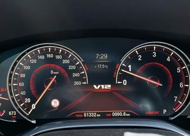原装V12发动机,手表底部只有260,假的?