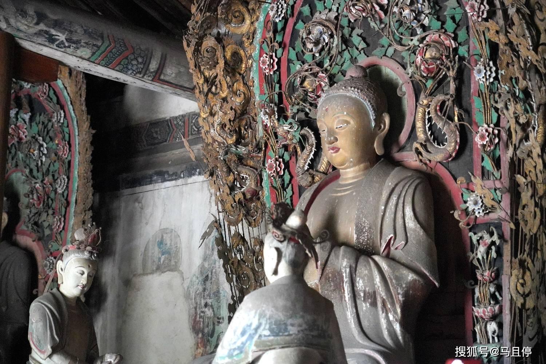 山西平遥有个冷门寺庙,比灵隐寺小众太多,还可看到1000多年的建筑  第8张