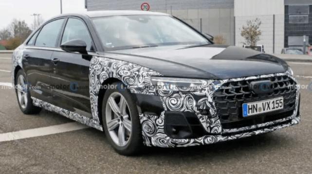 新奥迪A8渲染图曝光,颜值胜过奔驰S,3.0T V6配轻混