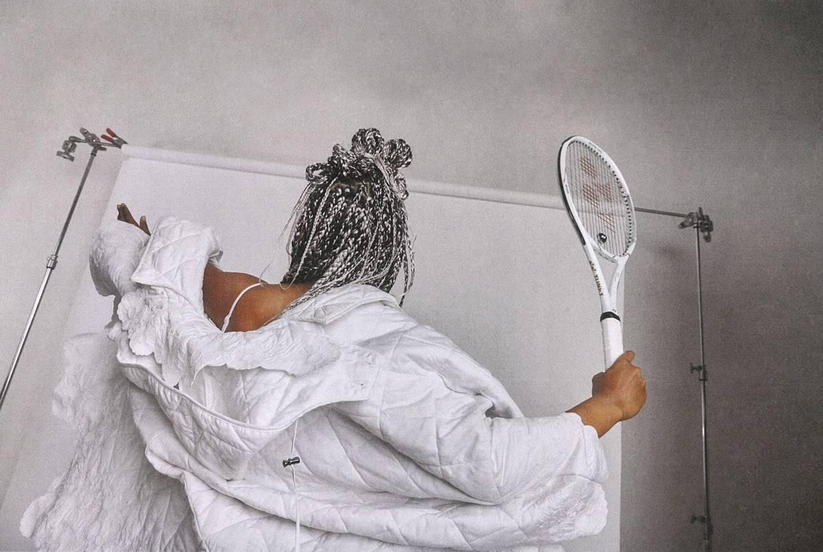 不喜欢时装的网球运动员不会成为冠军