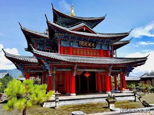 藏着云南的紫禁城:始建于明朝时期,占地46亩,门票不到50元