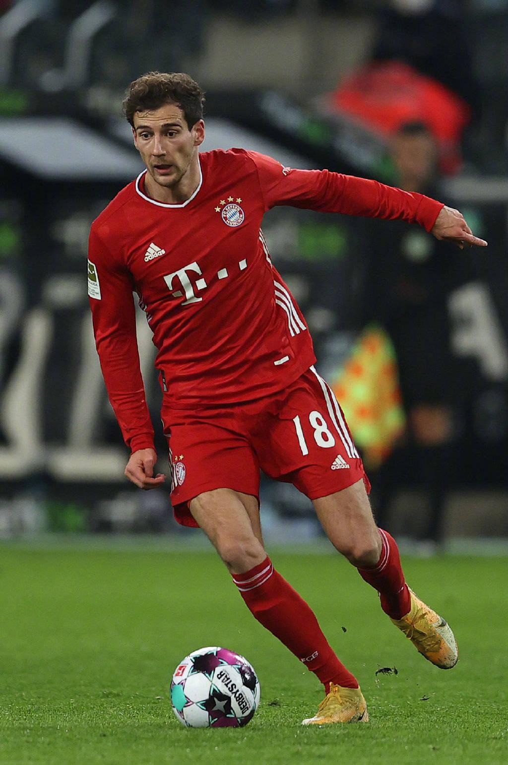 拜仁官方:格雷茨卡小腿受伤 无缘德国杯比赛