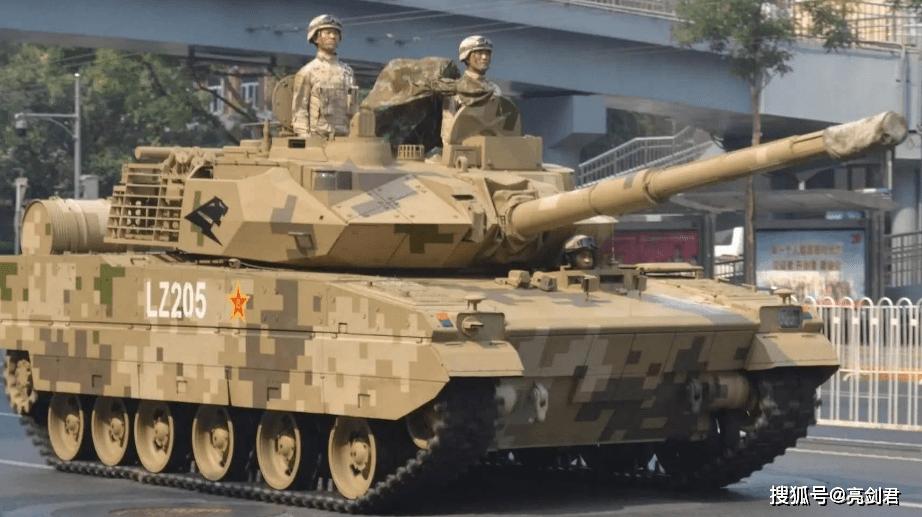 没有防护优势也没事,15式主战坦克为什么能碾压T-72