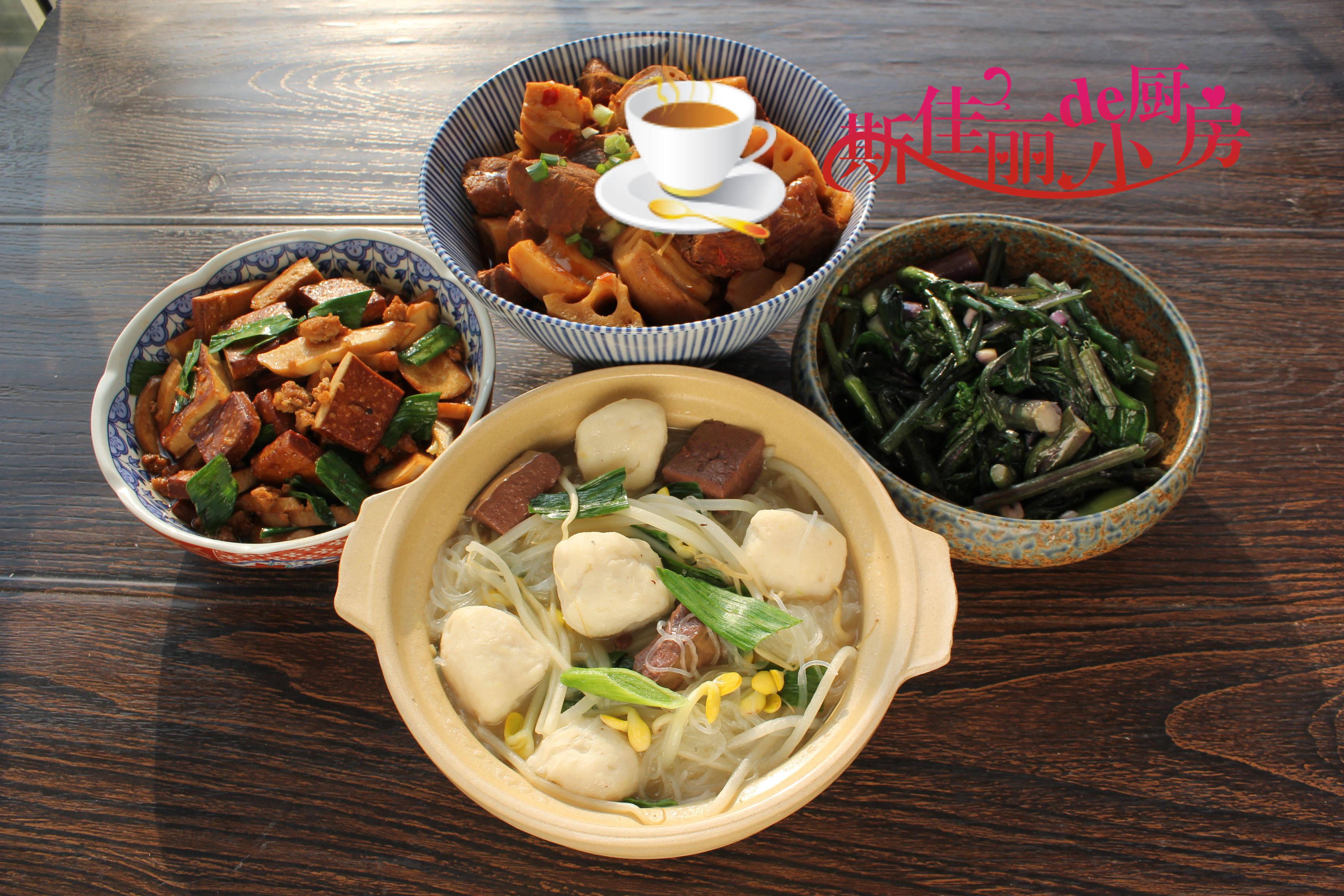 武汉一家三口周末午餐,实惠美味家人吃得香,不剩菜不浪费全吃光