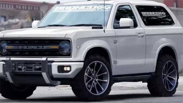 原装福特将生产野马SUV,JEEP牧民的竞争对手,外观性能基于猛禽