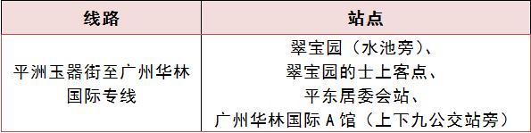 配资知识-华林国际:快讯   18日起平洲玉器街至广州华林国际