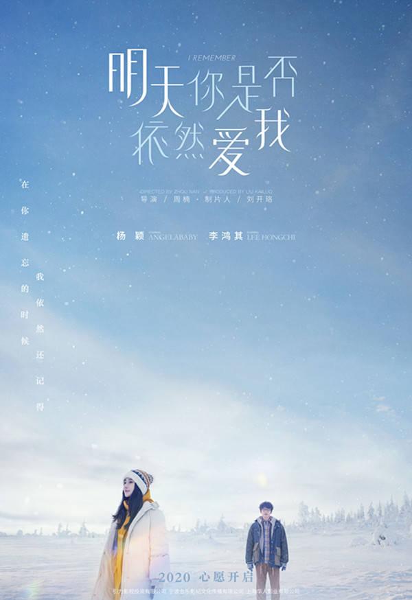 楊穎和李鴻其將合作愛情電影