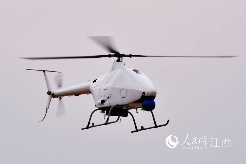 我国首架高原型无人直升机成功首飞
