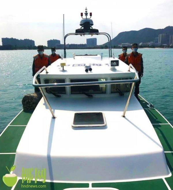 三亚海警局加大休渔期海上执法力度查扣涉案船只23艘