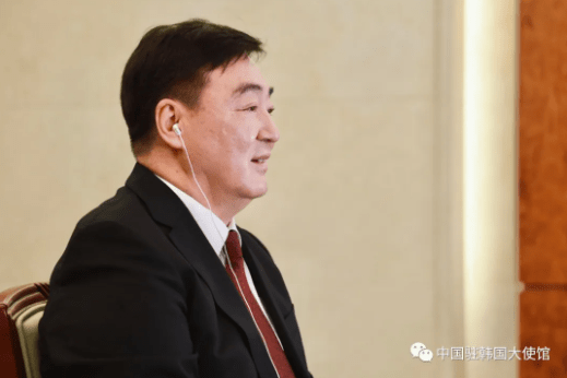 中国驻韩国大使:解决香港乱局 势在必