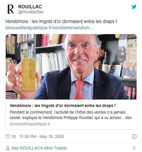"""新冠封锁下的""""小确幸""""!?两个孩子在法国小镇意外发现价值10万美元的金条_法国新闻_法国中文网"""