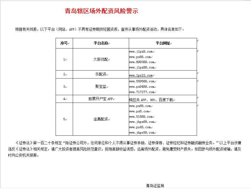 """10倍杠杆配资彻底""""凉了"""",上海、深圳等多地同时出手:近130家平台被""""拉黑""""!警惕套路下藏骗局"""