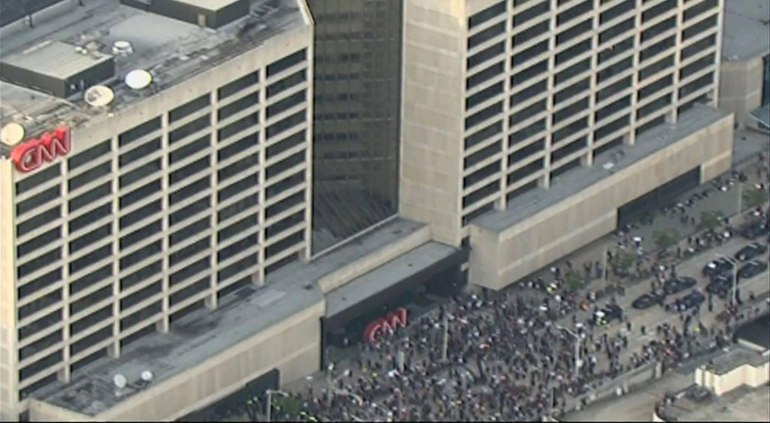 美国亚特兰大抗议示威活动发生枪击案 造成至少2死5伤