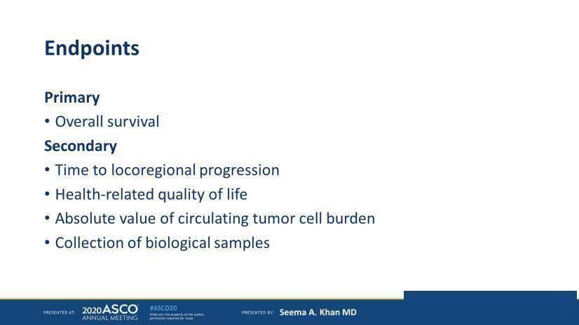 ASCO2020丨遗憾!早期局部治疗未能改善原发IV期乳腺癌女性的总生存率