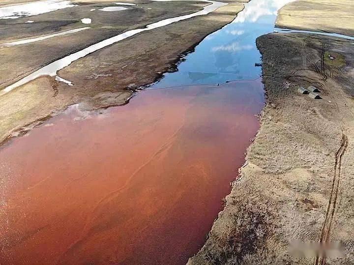 普京震怒!俄罗斯遭遇史上最严重石油事故,河水都变鲜红…