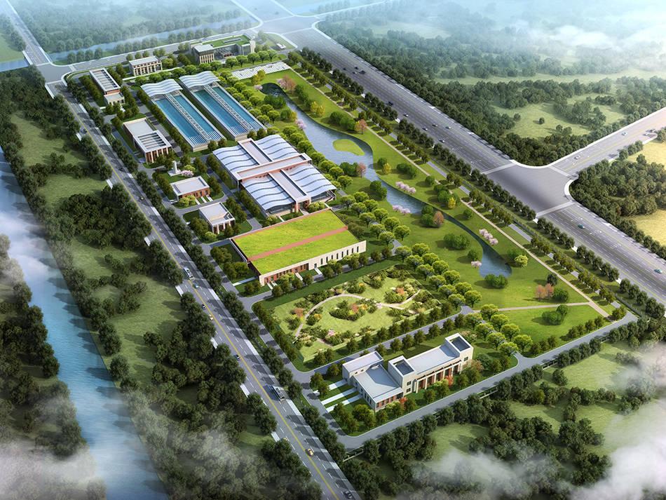 临港水厂等一批生态环境项目获施工许可,总投资超76亿元