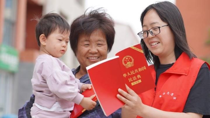 河北內丘:民法典宣傳進基層