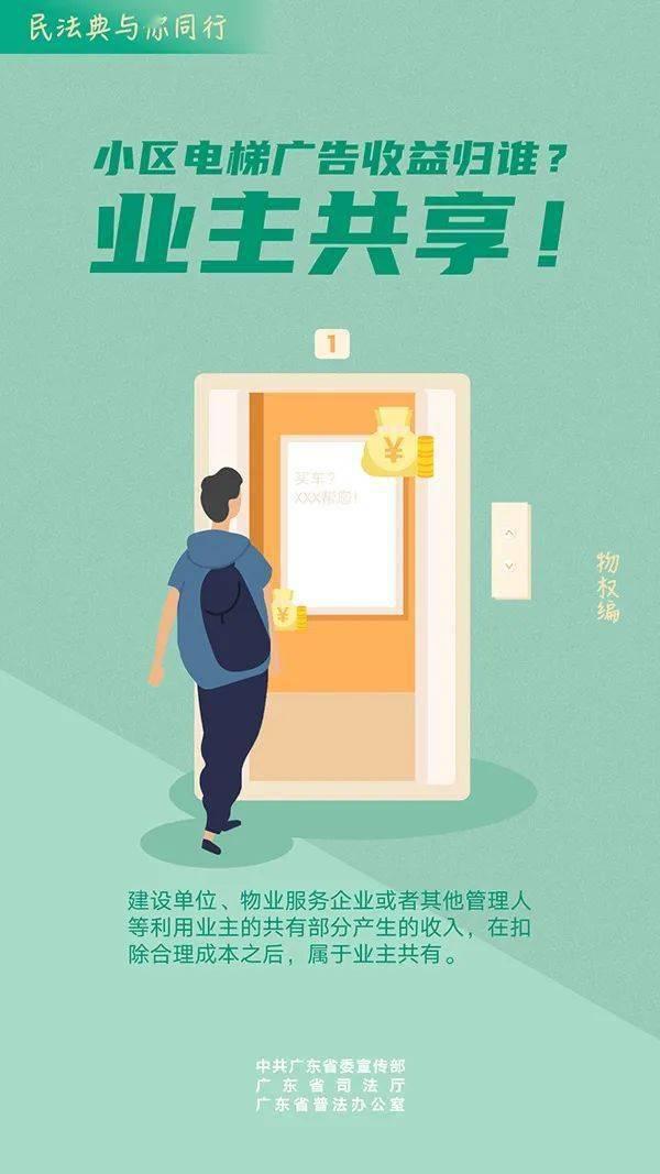 民法典与你同行的主题海报来了!这跟你