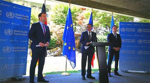 德国法国向世卫组织追加资金支持 合计增加6.4亿欧元_德国新闻_德国中文网