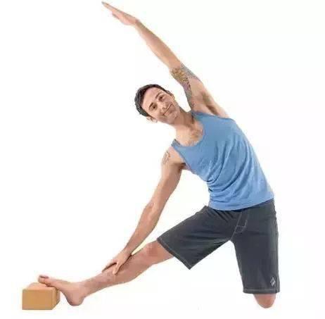 瑜伽体式,伸展肋间肌的门闩式 减肥窍门 第10张
