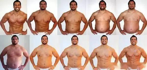 从肌肉男到死胖子,再从死胖子到肌肉男!看完你就知道减肥有多难了! 中级健身 第23张