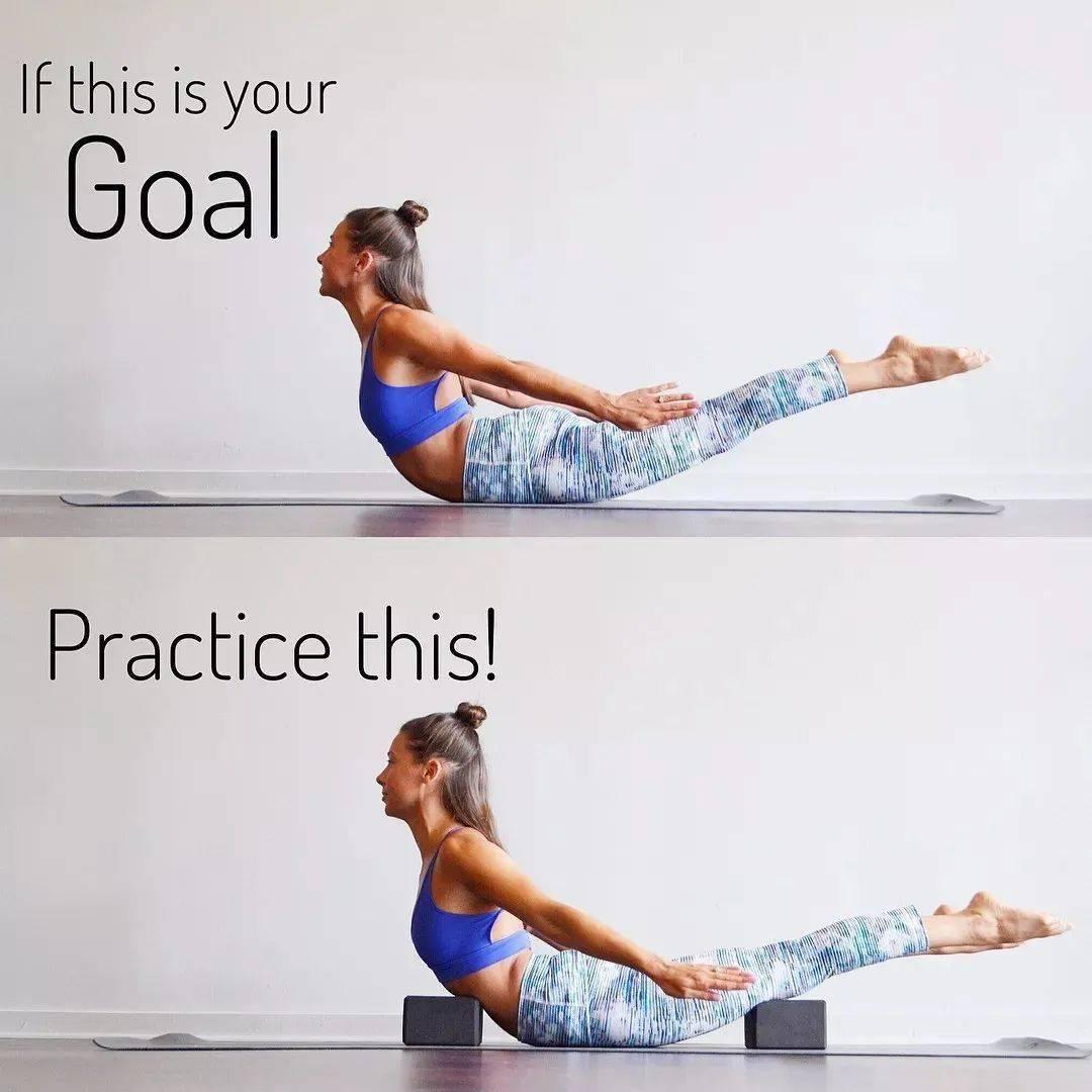 1个瑜伽体式每天练,增强核心改善体态,越练越优雅!_蝗虫 高级健身 第11张