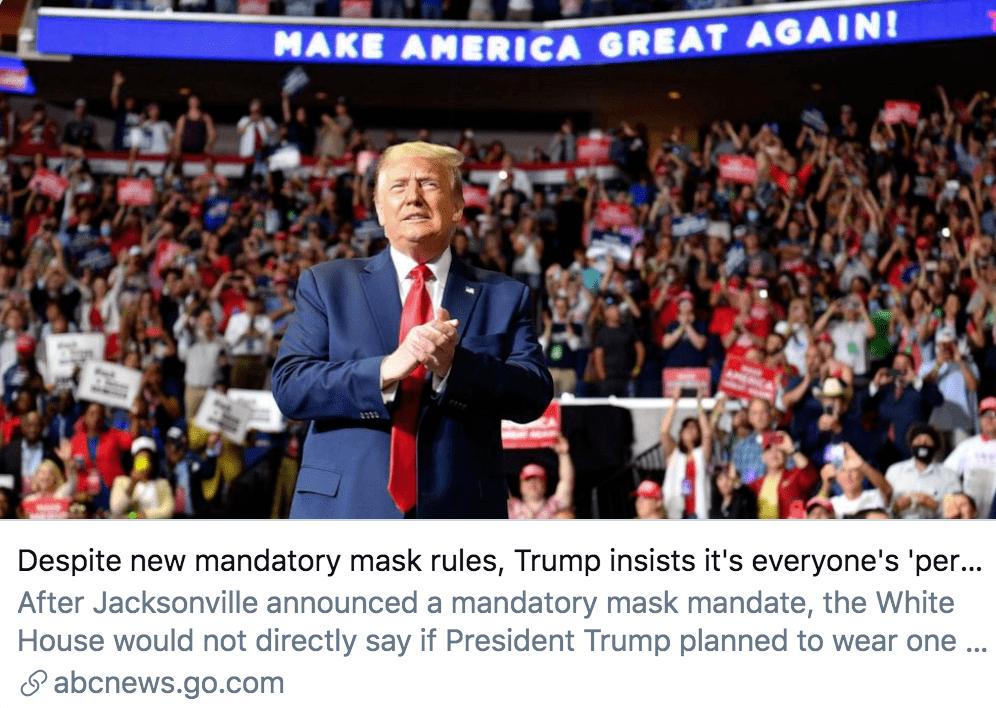 确诊近260万、死亡超12万,佩洛西呼吁总统戴口罩