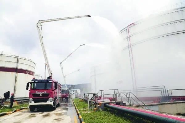 贵州石化灭火应急处置演练在智举
